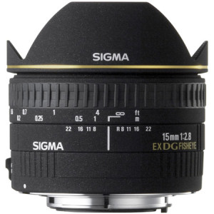 Sigma 15mm Fisheye Lens